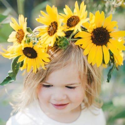 Sunflower Crowns