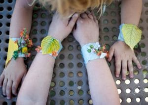 Examples of nature bracelets.