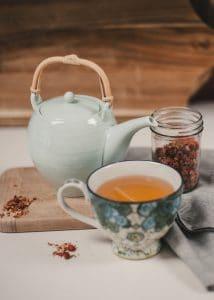 Wild rose hip tea.