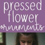 Pinterest long pin for pressed flower ornaments