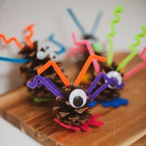 Silly pinecone monsters.