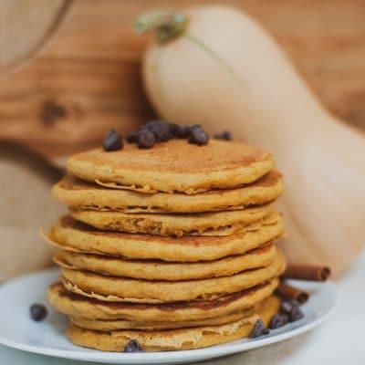 Butternut Squash Pancakes