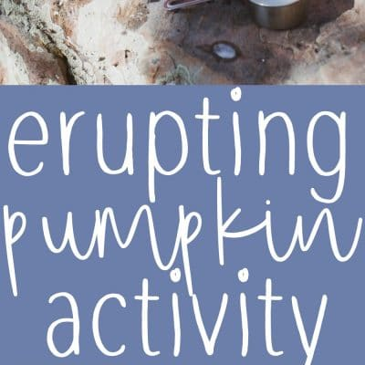 Erupting Pumpkin Activity