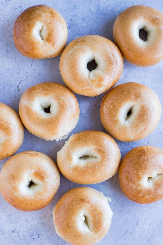Mini Bagels for mini pizza bagel recipe