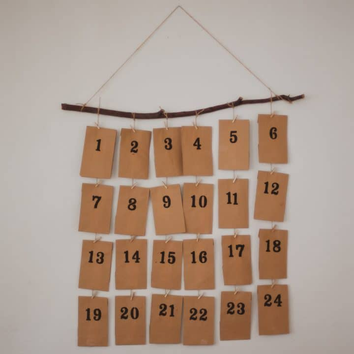 How to Make an Activity Advent Calendar