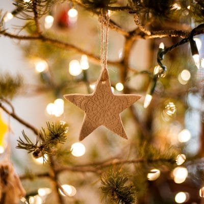 Lace Star Ornaments