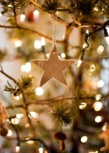 Lace Star Ornament