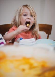 Kids love Pumpkin Mac & Cheese