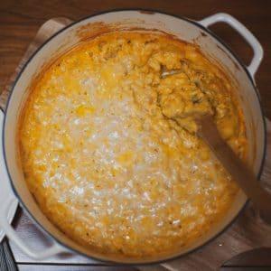 Pumpkin Mac & Cheese