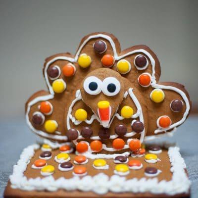 Gingerbread Turkey Cookies