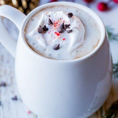Creamy Dairy Free Hot Chocolate