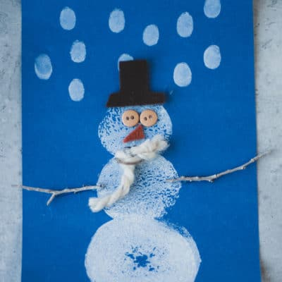 Potato Snowmen