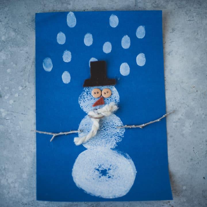 How to Make Potato Snowmen