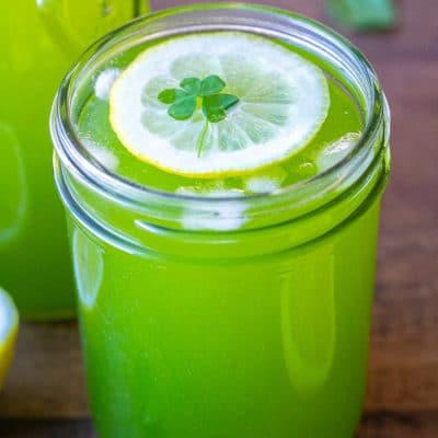 Leprechaun Lemonade (naturally colored)
