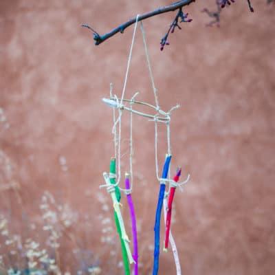 Rainbow Stick Wind Chimes