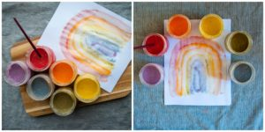 Painting with DIY Paints