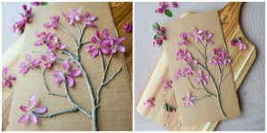 Completed Blooming Twig Tree.