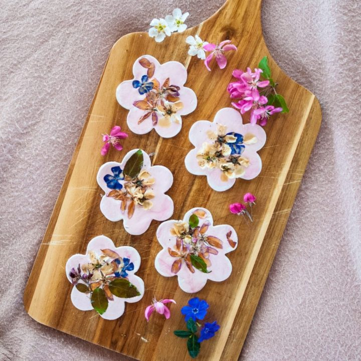 How to Make Clay Flower Cookies