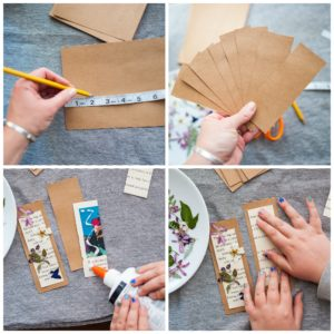 Measure and cut out your bookmarks.