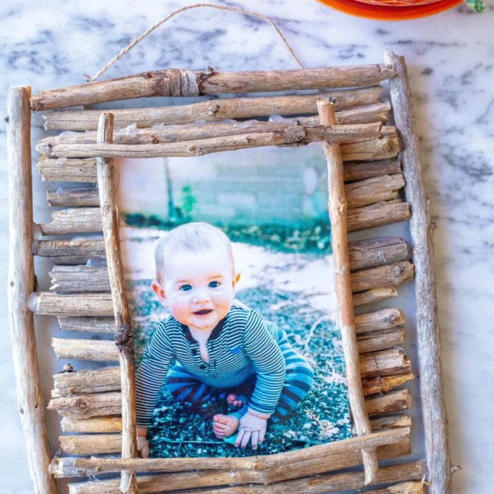 Twig Picture Frames