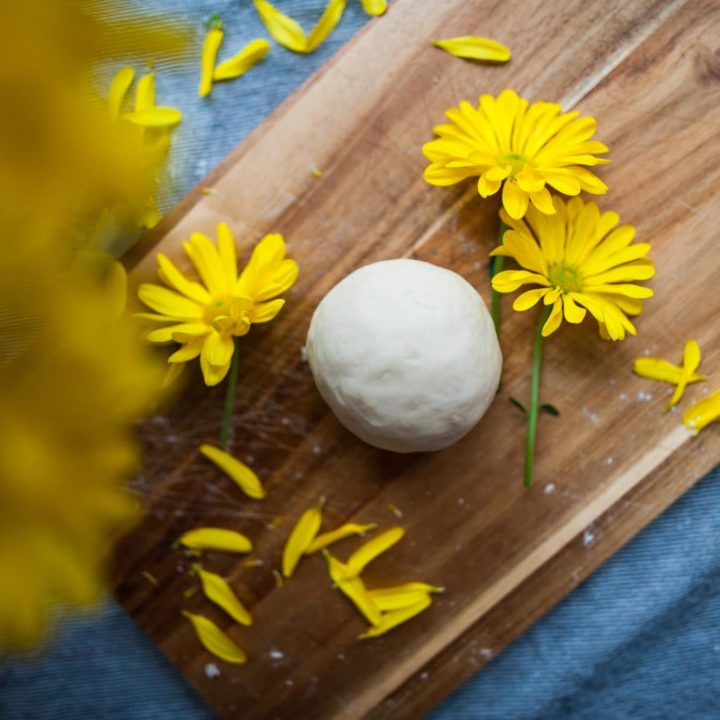 How to Make Flower Petal Playdough