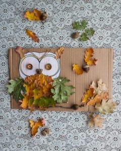 Completed Oak Owls.
