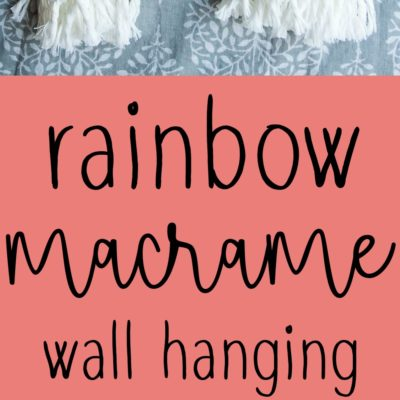 Macrame Rainbow