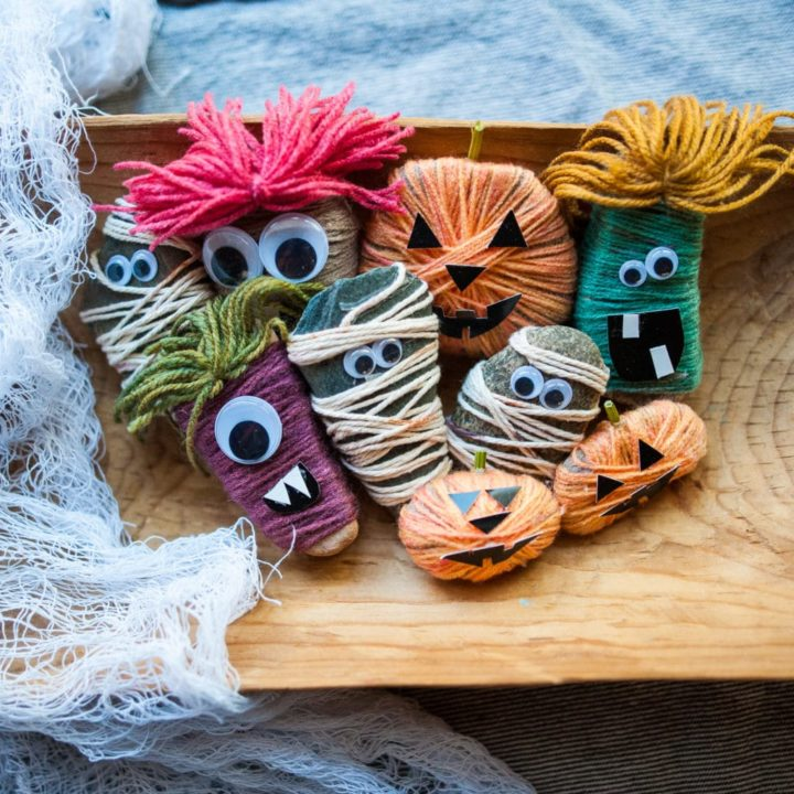 How to Make Halloween Rocks