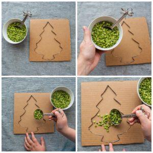 Add split peas to tree.