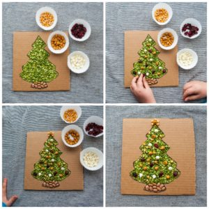 Add ornaments to tree.