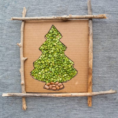 Split Pea Tree Activity
