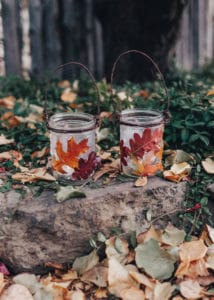 Two Fall Lanterns