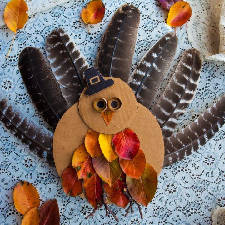 How to Make Nature Turkeys