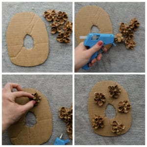 """Decorating the letter """"O"""""""