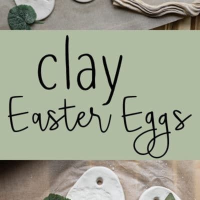 Clay Easter Eggs